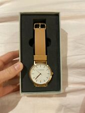 The Horse Watch, Brand New In Box. Rose Gold, Vegetable Tan Leather Band