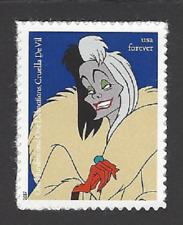 5219 ~ 101 Dalmations, CRUELA De VIL - Disney Villians -  mnhog  forever (A-2)