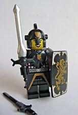 Lego Custom KNIGHT PALADIN Lion Templar Minifigure W/ Weapons and Armor