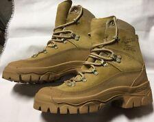 "DANNER DESERT 7"" ROUGH OUT Combat Boots TAN Size 4.5 43503X GOR TEX"