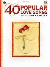 NEW 40 Popular Love Songs by Dan Coates