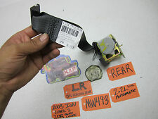 03-07 SATURN ION COUPE 2DR L LH LR DRIVER REAR SEAT BELT HARNESS SEATBELT BACK