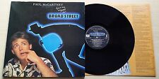 PAUL MCCARTNEY-GIVE MY REGARDS TO BROAD STREET-LP GATEFOLD+LYRICS INNER SLEEVE