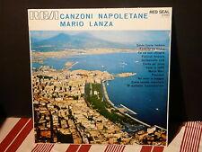 MARIO LANZA Canzoni napoletane : Santa Lucia luntana ... RED SEAL LSC 2331 ITALY