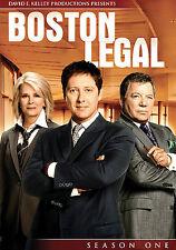 Boston Legal - Season 1 (DVD, 2009, 5-Disc Set)