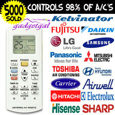 Air Con Remote Control - Actron Blueway Carrier Conia Daikin Dimplex Electrolux