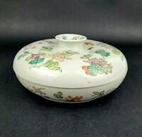 Antique Chinese Porcelain Divided Candy Trinket Box