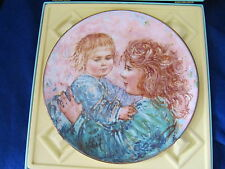Royal Doulton Edna Hibel Collectors Plate Kathleen And Child 6Th Lim Ed Cm319