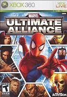 Marvel: Ultimate Alliance Xbox 360 Kids Game 1 I Avengers Spider Man Thor Hulk
