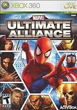 Marvel: Ultimate Alliance (Microsoft Xbox 360, 2006)G- MISSING COVER