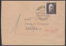 GERMANY, 1943. Cover 864, Berlin - Aachen