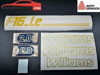 Kit Stickers Clio Williams Phase 1