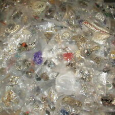 10lb Box Unsorted Vintage Mod Jewelry Wear Repair Craft Repurpose Junk Drawer