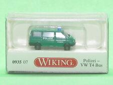 1:160 Wiking 093507 Polizei - VW T4 Bus Blitzversand per DHL-Paket