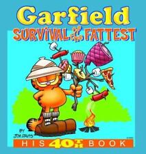 Garfield: Survival of the Fattest: His 40th Book (Garfield Classics)-ExLibrary