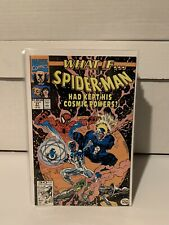 "What IF #31 1991 Marvel ""What If Spider-Man Had Kept His Cosmic Powers?"""