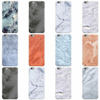 DYEFOR FAUX MARBLE EFFECT DESIGN HARD PHONE CASE COVER FOR APPLE IPHONE