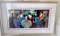 Itzchak Tarkay Hand Signed and Numbered Serigraph EA13/50
