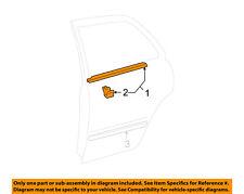 TOYOTA OEM Camry Rear Window/Door-Belt Molding Weatherstrip Right 75730AA020