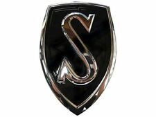 "For Nissan Genuine OEM JDM Silvia ""S"" Hood Emblem Chrome Black"