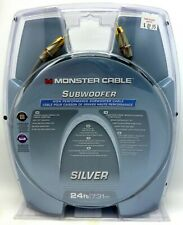 Monster Cable 400sw2 24' Subwoofer Cable