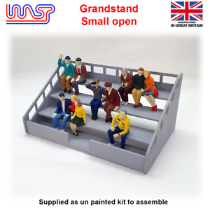 Slot Car Track Scenery Grandstand Open Small 1:32 Scale NEW Wasp