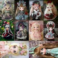 5D DIY Full Drill Diamond Painting Doll Embroidery Mosaic Cross Stitch Kit Decor