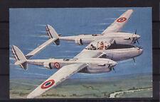 cp2/ avion comité national de l' enfance  le lightning   de l'aviation Francaise