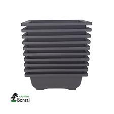 More details for plastic bonsai training pots small x10