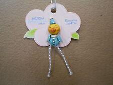 Lapel Pin Pumpkinseeds Folk Art 4012491 Chick / Blue Suit Pin Decorative