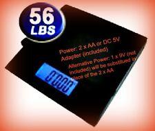 DigiWeigh DW-56BPB Portable Digital Shipping Postal Platform Scale 56lb