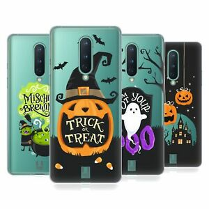 HEAD CASE HALLOWEEN CHARACTERS SOFT GEL CASE & WALLPAPER FOR AMAZON ASUS ONEPLUS