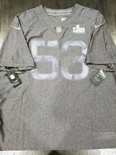 Nike Limited Edition Super Bowl 53 LIII 2019 Patriots Rams Jersey 3xl Ah0708