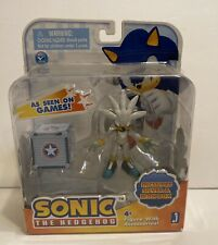Sonic the Hedgehog Silver & Iron Box 3in Action Figure Jazwares Toys