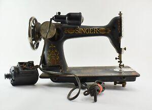 "1924 Singer Model 66 ""Red Eye"" Sewing Machine NO RESERVE  - SJ1"