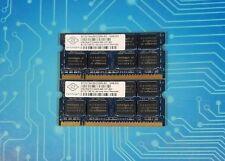 4GB (2x2GB) PC2-6400s DDR2-800MHz 2Rx8 Nanya NT2GT64U8HD0BN-AD