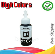 Refill Ink Bottle Black For Use with Epson L100 L200 L300 L350 L550 Cart T6641