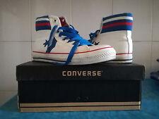 Scarpe shoes Converse All star Bianche Blu numero 40 unisex sneakers swag