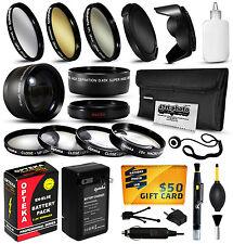 Battery Charger Accessories 52mm Filters for Nikon D50 D70 D70s D80 D90 DSLR