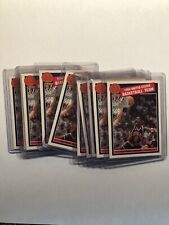 Rare - Michael Jordan 1984 USA Olympic LOT of 10 CARDS! - PINK BACK SP! LOOK!
