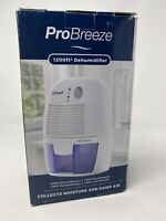 NEW Pro Breeze PB-03-US Electric Dehumidifier 1500ml Collects Moisture Damp Air