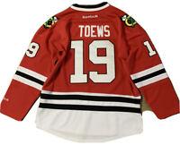 Authentic Chicago Blackhawks Jonathan Toews Jersey Large Hockey NHL Reebok Vtg