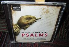 BENEDETTO MARCELLO: PSALMS MUSIC CD, VOCES8 / LES INVENTIONS, 6 TRACKS, GUC