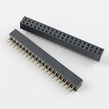 10Pcs 2mm 2.0mm Pitch 2x20 Pin 40 Pin Female Dual Row Straight Pin Header Strip