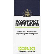 KORJO PASSPORT Defender Block RFID Protect Yourself from identity theft (RFIDPP)
