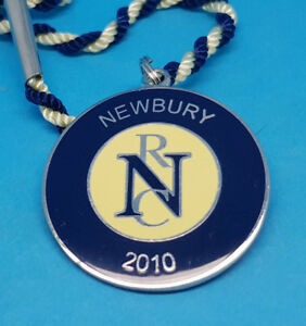 Newbury Horse Racing Members Badge - 2010