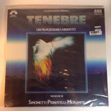 GOBLIN Tenebre, OST LP VINYL, AMS LP 32, 2012, Dario Argento Horror NEW SEALED