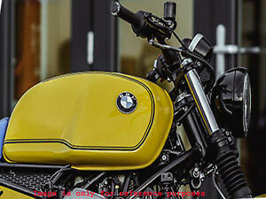 BMW R100 RT RS R90 R80 R75 YELLOW PAINTED STEEL PETROL TANK( NO BADGES)Fit For
