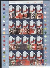 More details for gb generic sheets unused - 2002 football world cup ls8