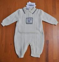 Baby Graziella Tuta Tutina Bambino Bambina Neonato-a 0 Mesi Made in ITA BG03003
